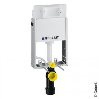 Geberit Kombifix Basic Wand-WC Montageelement mit Delta UP-Spülkasten UP100