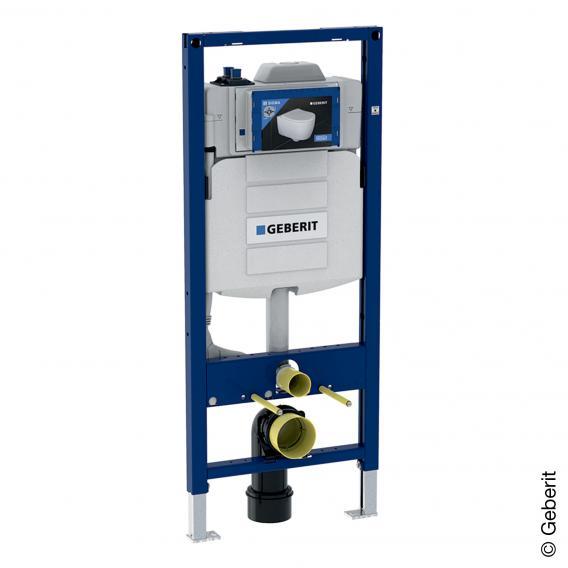 Geberit Duofix Wand-WC-Montageelement, H: 120 cm, für Hygienespülung, mit zwei Wasseranschlüssen