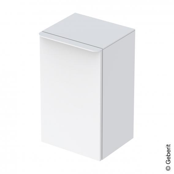 Geberit Smyle Square Seitenschrank mit 1 Tür weiß hochglanz