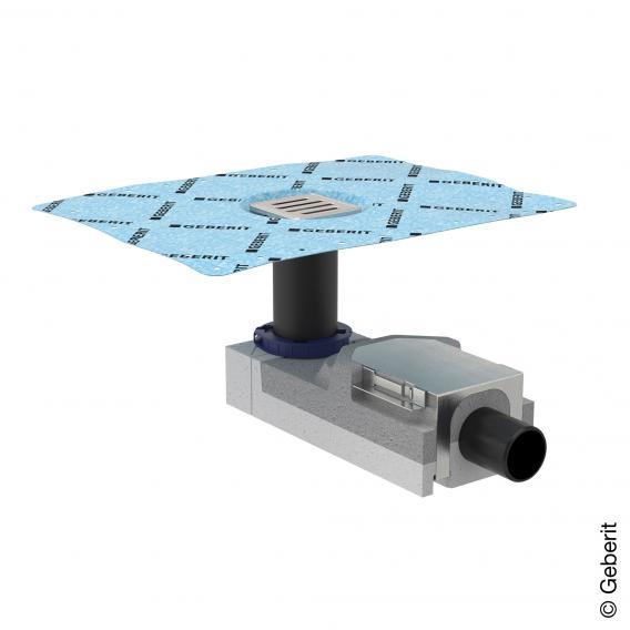Geberit Universal Duschbodenablauf für Estrichhöhe 90-220 mm