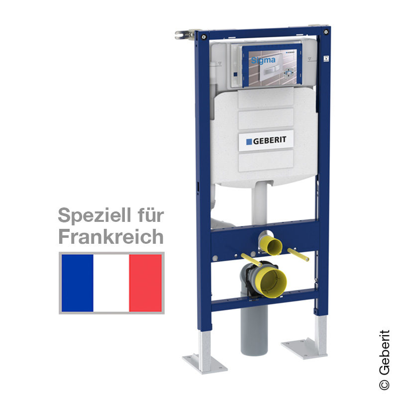 Geberit Duofix Wand-WC-Montageelement, H: 112 cm, UP-Spk. UP320, für ...