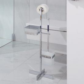 Giese Solid Toilettenbürstengarnitur mit Behälter für Feuchtpapier