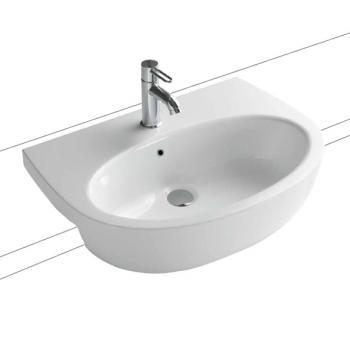 Globo GRACE Halbeinbau-Waschtisch