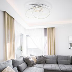 Globo Lighting Barna LED Deckenleuchte mit Dimmer und CCT