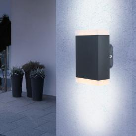 Globo Lighting LED Wandleuchte, auf-abwärts