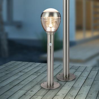 Globo Lighting Callisto LED Sockelleuchte mit Bewegungsmelder