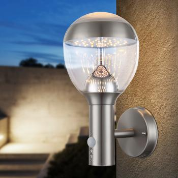 Globo Lighting Callisto LED Wandleuchte mit Bewegungsmelder