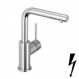 Herzbach Design New Waschtisch-Einlochbatterie für offene Warmwasserbereiter ohne Ablaufgarnitur