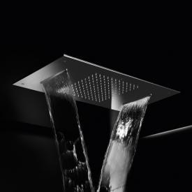 Herzbach Living Spa Regenbrause, Multifunktion 2, Deckeneinbau edelstahl poliert