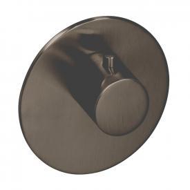 Herzbach Logic XL Vario Einzel-Thermostatmodul rund black steel