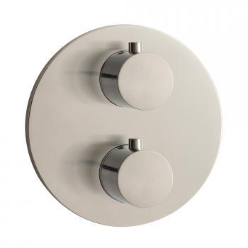 Herzbach Design iX Thermostat round Unterputz für 2 Verbraucher