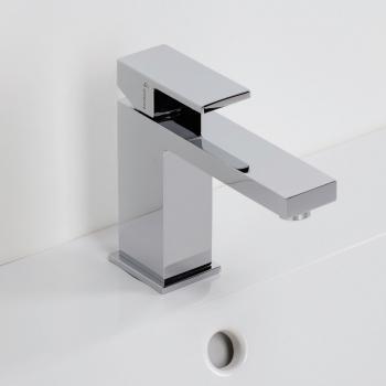 Herzbach Neo Castell Waschtisch-Einlochbatterie ohne Ablaufgarnitur