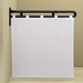 Hewi Serie 801 Duschspritzschutzvorhang weiß