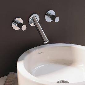 AXOR Starck 3-Loch-Waschtischarmatur für Wandmontage Ausladung: 125 mm