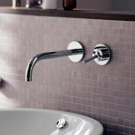 AXOR Uno Einhebel-Waschtischmischer mit Rosetten für Wandmontage Ausladung: 165 mm, chrom