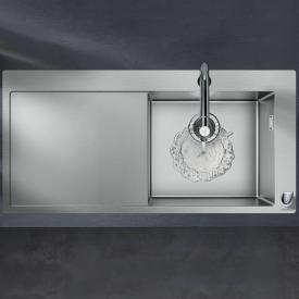 Hansgrohe C71 Spülencombi 450 mit Abtropffläche chrom