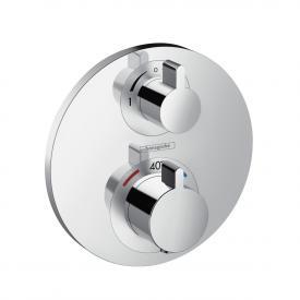 Hansgrohe Ecostat S Thermostat Unterputz, für 2 Verbraucher chrom