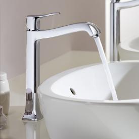 Hansgrohe Metris Classic Einhebel-Waschtischmischer 250, für Waschschüsseln mit Ablaufgarnitur