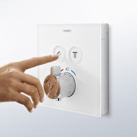 Hansgrohe ShowerSelect Thermostat Unterputz für 2 Verbraucher weiß/chrom