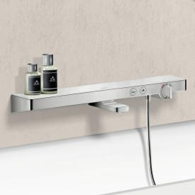 Hansgrohe ShowerTablet Select 700 Wannenthermostat Aufputz weiß/chrom