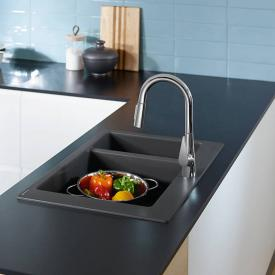 Hansgrohe Talis M51 Einhebel-Küchenmischer 200 mit Ausziehbrause und sBox chrom