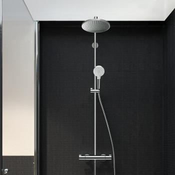 Hansgrohe Crometta S 240 1jet Showerpipe, EcoSmart chrom