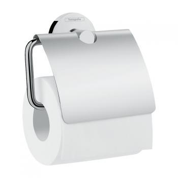 Hansgrohe Logis Universal Papierrollenhalter mit Deckel