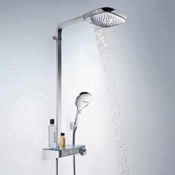 Hansgrohe Raindance Select E 300 3jet ShowerTablet Showerpipe chrom