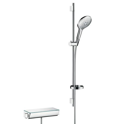 Hansgrohe Ecostat Select Combi Set Höhe: 900 mm, weiß/chrom
