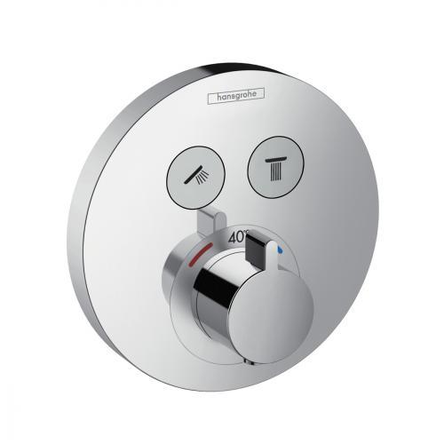 Hansgrohe ShowerSelect S Thermostat Unterputz, für 2 Verbraucher