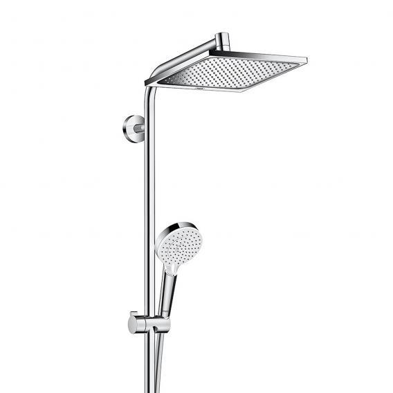 Hansgrohe Crometta E 240 1jet Showerpipe für Wanne chrom