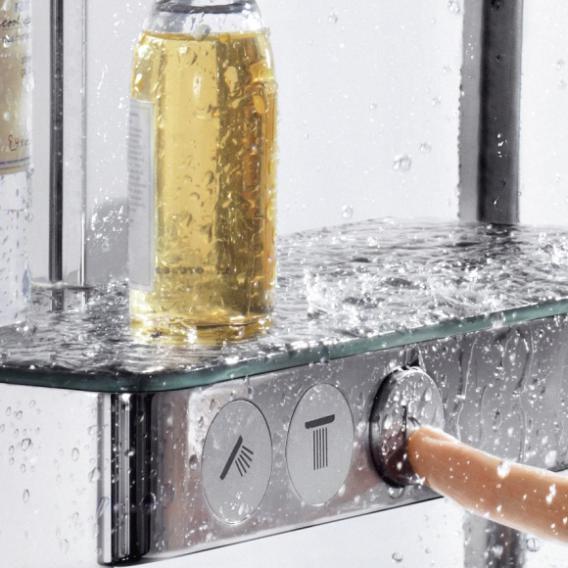 Hansgrohe Raindance Select E 300 3jet ShowerTablet Showerpipe chrom
