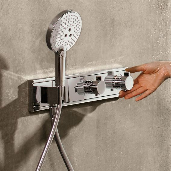 Hansgrohe RainSelect Fertigset für 2 Verbraucher, Unterputz chrom