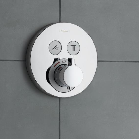 Hansgrohe ShowerSelect S Thermostat Unterputz, für 2 Verbraucher chrom