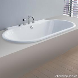 Hoesch FOSTER Halbrunde Badewanne weiß