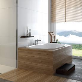 Hoesch iSENSI Oval-Badewanne, Einbau
