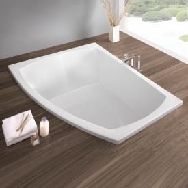 Hoesch LARGO Eck-Badewanne weiß