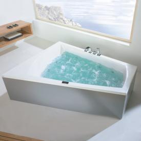 Hoesch LARGO Eck Whirlpool mit Deluxe Whirl-Air Whirlsystem, links