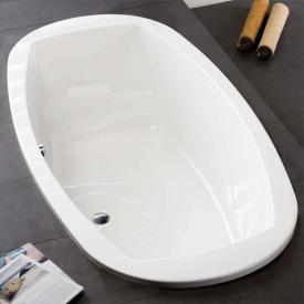 Hoesch LARGO Oval Badewanne weiß