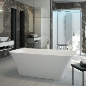 Hoesch LEROS Freistehende Oval-Badewanne weiß