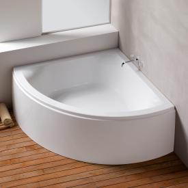 Hoesch SCELTA Eck-Badewanne mit Verkleidung weiß