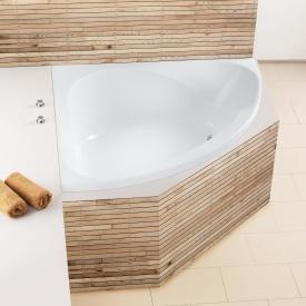 Hoesch SPECTRA Eck-Badewanne weiß