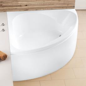 Hoesch SPECTRA Eck-Badewanne mit Verkleidung weiß
