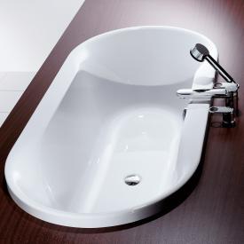 Hoesch SPECTRA Oval-Badewanne, Einbau weiß