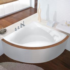 Hoesch SQUADRA Eck-Badewanne weiß