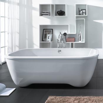 Hoesch ANDREE PUTMAN freistehende Badewanne weiß