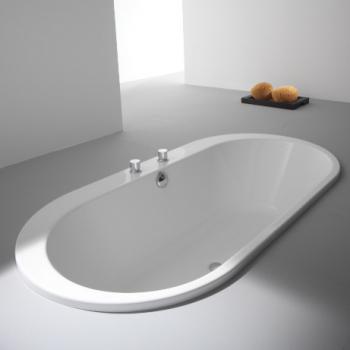 Hoesch FOSTER Oval Badewanne weiß