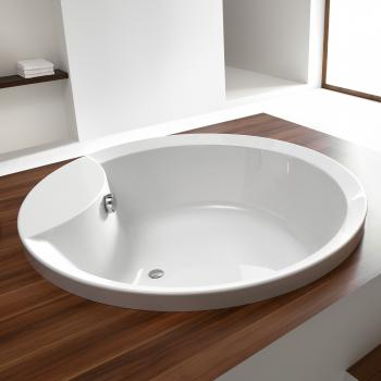 Hoesch ORLANDO Runde Badewanne weiß