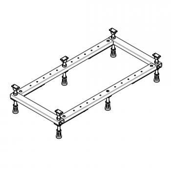 Hoesch Untergestell für Duschwanne L: 80 B: 80 bis L: 100 B: 80 cm