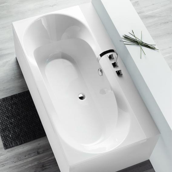 Hoesch SPECTRA Rechteck-Badewanne weiß